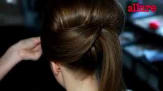 Высокая свадебная прическа: видеоурок