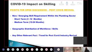 Tech Savvy - Webinar 2 (Plumbing Vocational Training in & after Covid)