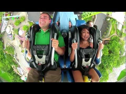 Six Flags New England - New Coaster, GOLIATH!