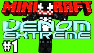 Minecraft: Venom e os Aventureiros - Multiplayer #1 - Construindo o Abrigo