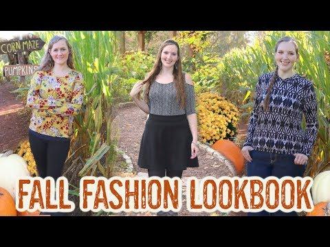 [VIDEO] - Fall Fashion Lookbook ft. Handmade Clothes, Fall Fun, & My Best Friend! | Autumn Fashion Film 1