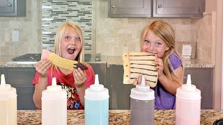 BACK TO SCHOOL Pancake Art Challenge!