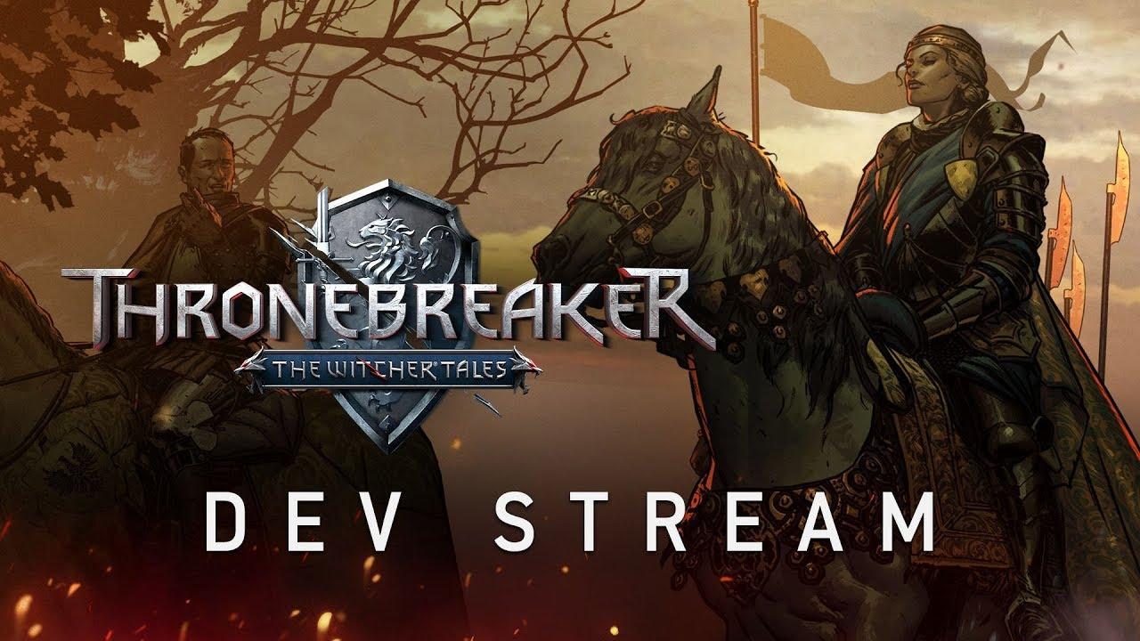 CD Projekt показала час геймплея Thronebreaker — новой игры по «Ведьмаку»