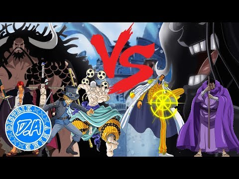 5 Karakter yang Mampu Ngalahin Admiral di One Piece