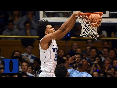 Marvin Bagley's Monster 2nd Half Leads Duke Over UNC