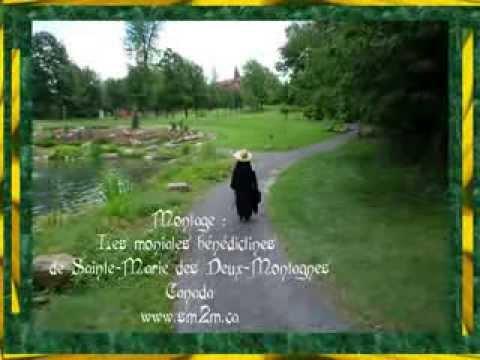 L'été à l'Abbaye Sainte-Marie des Deux-Montagnes - Canada