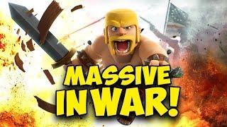 Clash of Clans | MASSIVE WAR #282 - Malaysia Legend