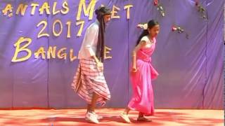 AAM MA DHONGA RE PELA MOI / SANTHALI DANCE PERFORMANCE / BANGALORE SANTALS MEET 2017