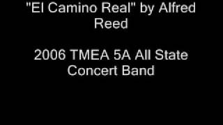 el camino real 2006 tmea all state band