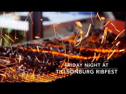 Friday Night At Tillsonburg Ribfest