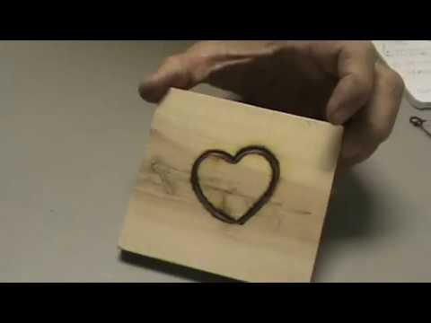 DIY Branding Iron Wood Burning