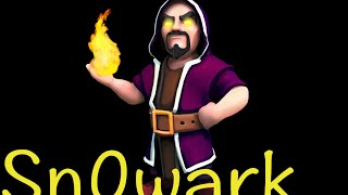 Clash of Clans Draglaloon. Lava Hounds, Dragons, Balloons 3 Star TH9 War Attack