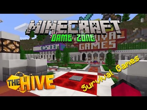 Minecraft - Game Zone - The Hive - Survival Games [1]