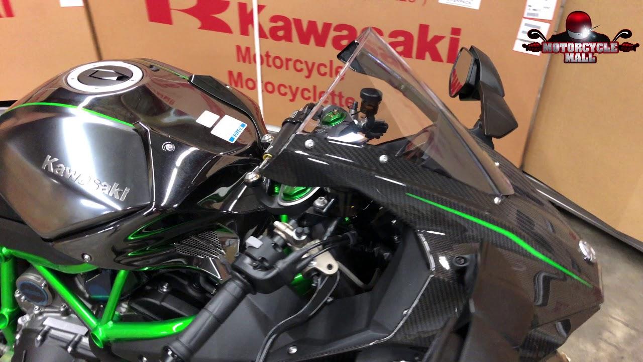 2019 Kawasaki Ninja H2 Carbon Unboxing Youtube