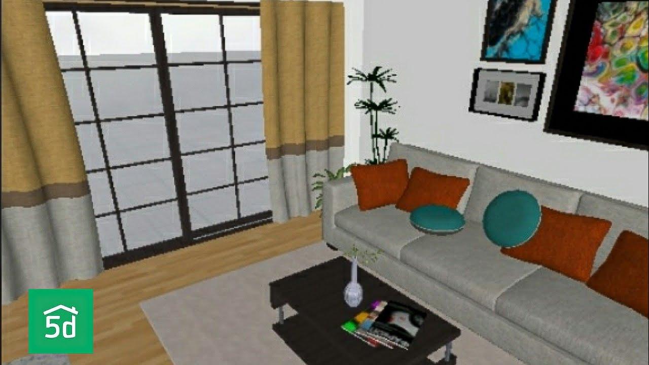 4x4m modern living room design  planner 5d  anniszhaa