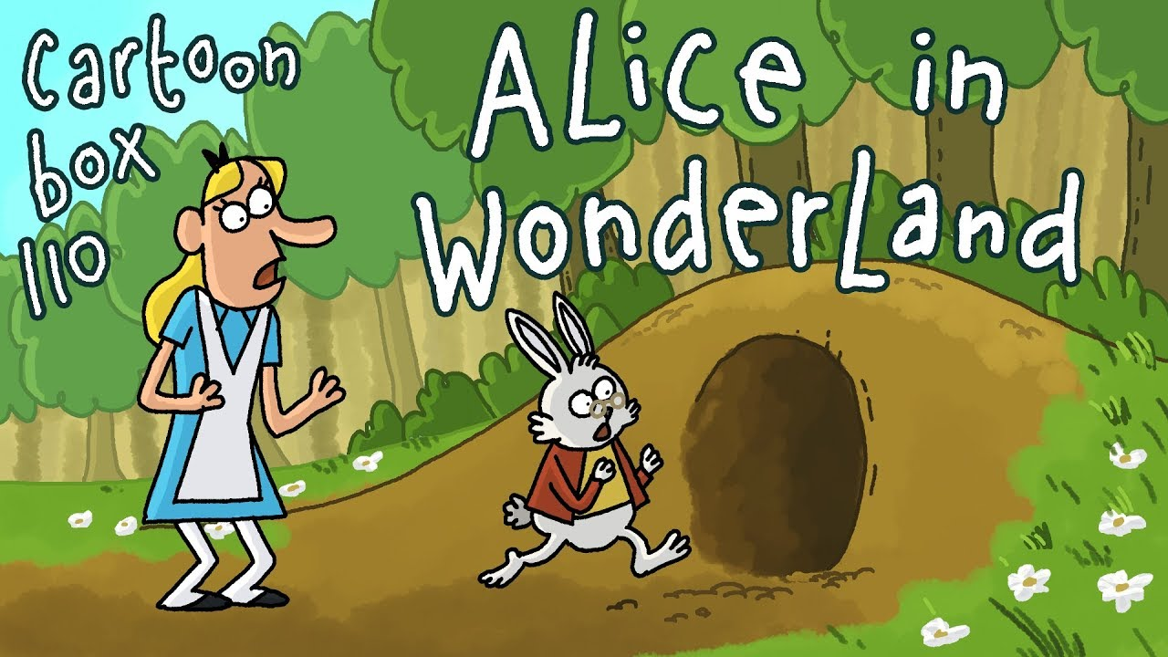 Alice In Wonderland Parody Cartoon Cartoon Box 110 By Frame