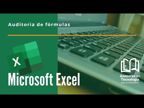 ¿Cómo hacer una auditoria a las fórmulas en Microsoft Excel?