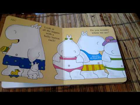 "Belly Button Book by Sandra Boynton, ""read"" by 3 1/2 year old"