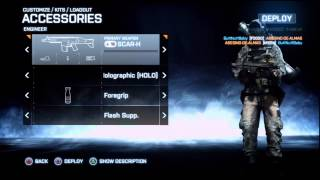 Battlefield 3 Heavy Barrel Vs Flash Suppressor Post Patch