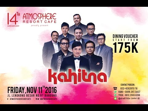 KAHITNA -  Tentang Diriku  Dan  Cerita Cinta Live (Atmosphere Resort Cafe)