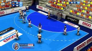Handball-Simulator European Tournament 2010 PC - Úvodní minuty GAMEPLAY