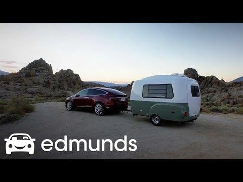 2016 Tesla Model X: Edmunds Tahoe Tow Test   Part 1