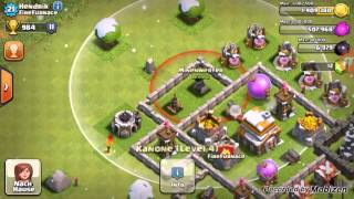 COC - Clash of Clans #003 - 3 Mann, ein Team | Let´s Play CoC - Clash of Clans