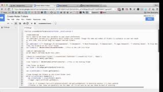 Automatically Create Matter Folders in Google Drive