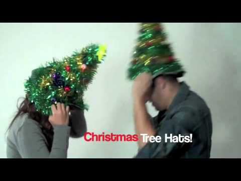 Christmas Tree Hat Party From Stupid Com