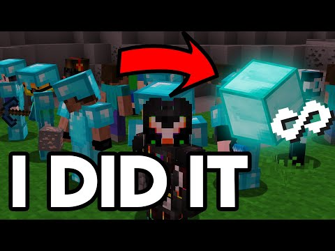 I Took Over A Minecraft Server With Bots