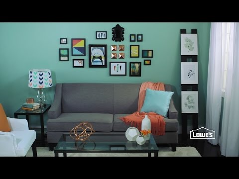 Decorating a Living Room for Less