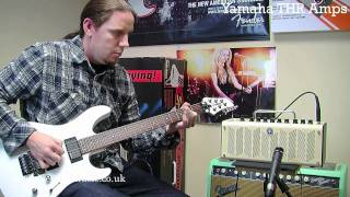 Yamaha THR Series Amp Demo - Nevada Music UK