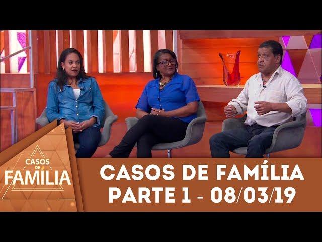 Caso do dia 08/03/19 - Parte 1 - Gostar de comer é normal, mas... | Casos de Família