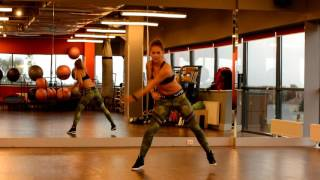No Es Normal - Watatah Zumba with Natalia Danielczak - easy choreography