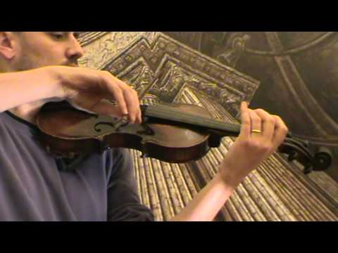 Nicely arched antique violin # 569
