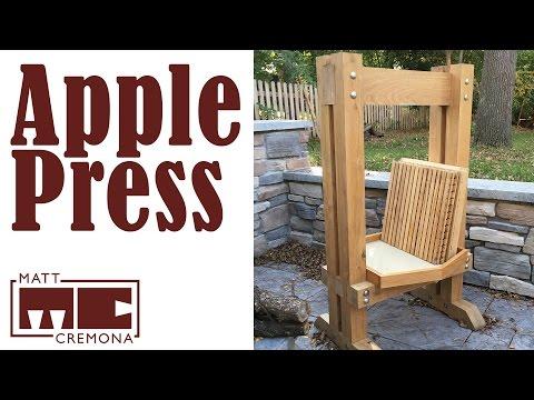 Build a Rack and Cloth Apple (Cider) Press