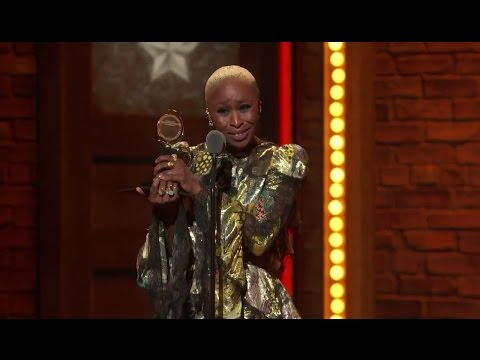 Acceptance Speech: Cynthia Erivo - Best Leading Actress in a Musical (2016)