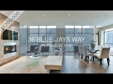 36 Blue Jays Way - SOHO Hotel Toronto, Penthouse 1518 - Luxury Real Estate