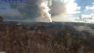 Live Stream - Kīlauea Volcano 🌋USGS Hawaii Eruption Coverage & Live Earthquake Map - 24/7