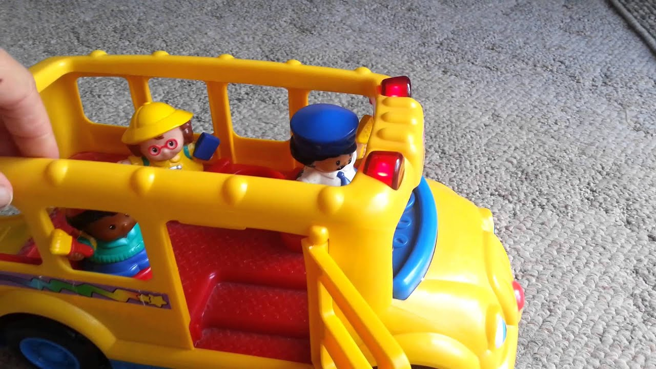 Fisher Price Little People School Bus - YouTube