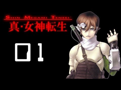 Let's Play Shin Megami Tensei Part 1 - Dreamscape