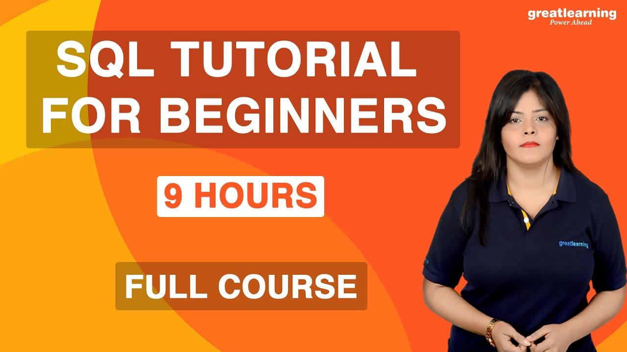 SQL Tutorial for Beginners | SQL Full Course | Learn SQL for Beginners