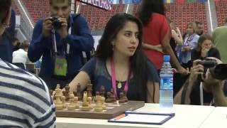 Шахматная олимпиада 2016. День 10, ч.1