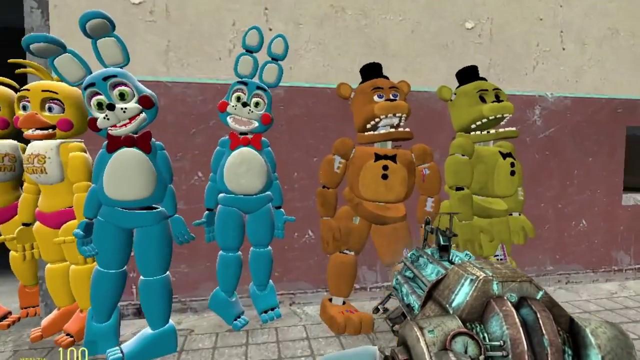 Gmod FNAF | New Toy Models