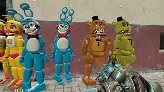 Gmod FNAF 2 New Toy Models