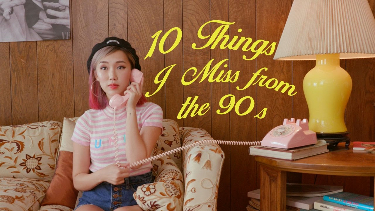 10 THINGS I MISS ABOUT THE 90s! 🌹 Childhood Nostalgia 🌹