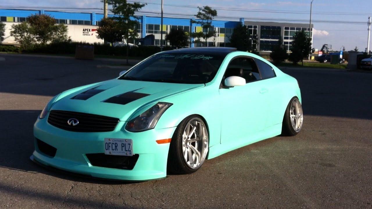 100 reviews infiniti g35 coupe blue on margojoyo insane g35 coupe fully modded exhaust youtube vanachro Gallery