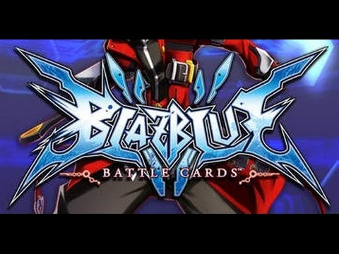 BLAZBLUE BATTLE CARDS