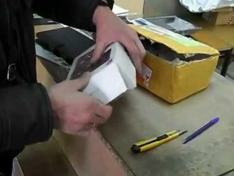 Получение посылки на Почте России 09.04.12.