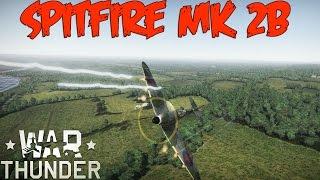 War Thunder Gameplay - Spitfire Mk 2B - Realistic Battle - Also Testing Blue Yeti Blackout